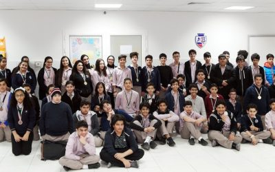 KIPCO volunteers deliver INJAZ entrepreneurship program to 60 school students