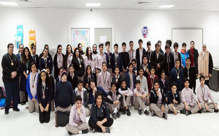 KIPCO volunteers deliver INJAZ entrepreneurship program to 60 school students