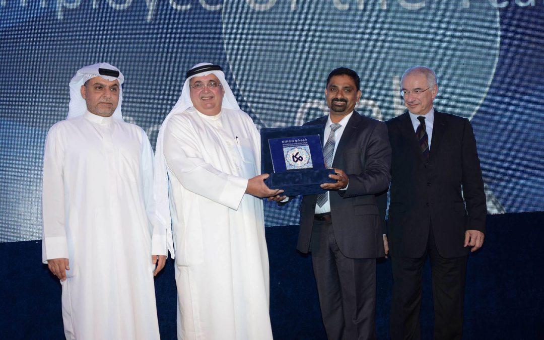 حفل توزيع جوائز لأفضل الموظفين في مجموعة شركة المشاريع ٢٠١٤