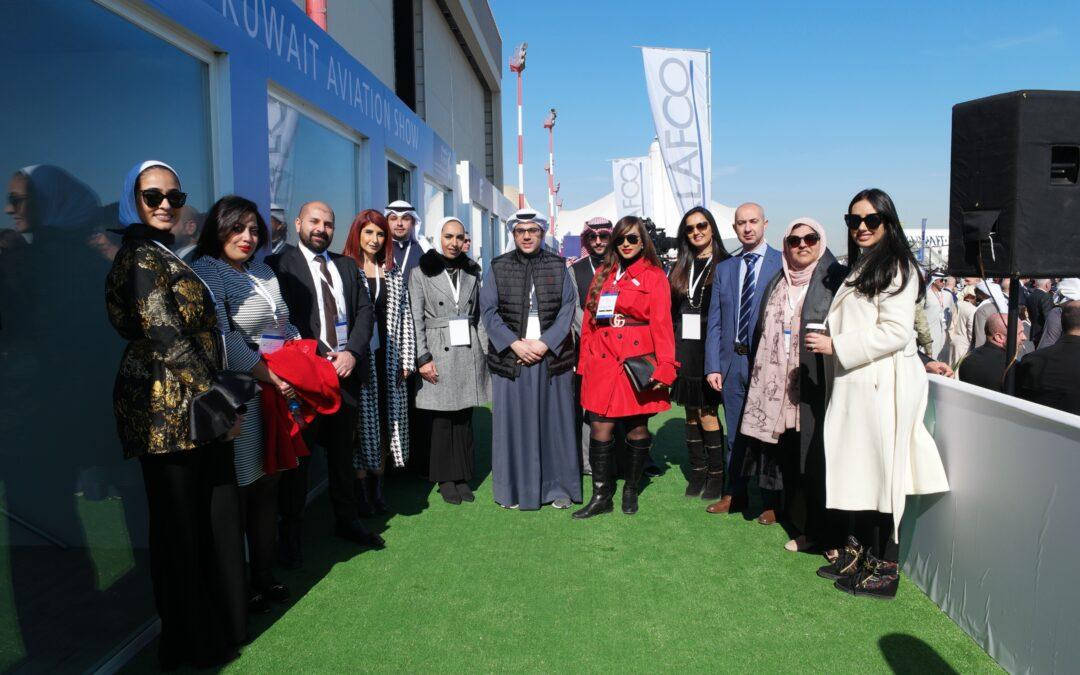 مجموعة المشاريع راعٍ ذهبي لمعرض الكويت للطيران 2020